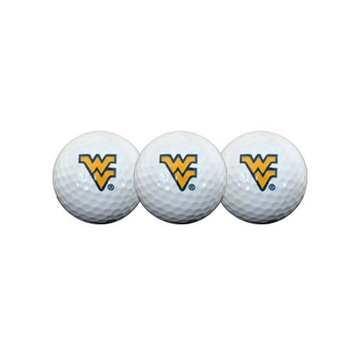 West Virginia Moutaineers Golf Ball Pack of 3