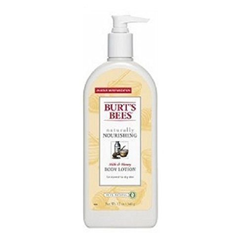 Burt's Bees Body Lotion, Milk & Honey 12 Oz