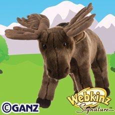 Ganz Webkinz Signature Moose Plush ()