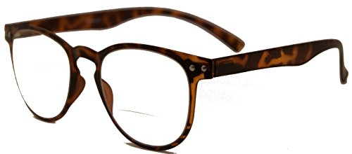 In Style Eyes Bendables, Bifocal Reading Glasses Extra Comfortable Flexible Frames/Tortoise +1.75