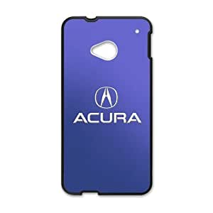 DAZHAHUI Blue Acura sign fashion cell phone case for HTC One M7
