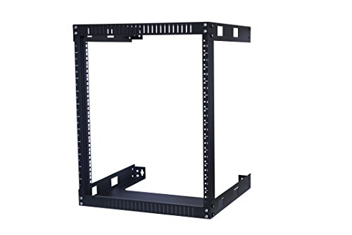 Kenuco 12U Open Rack Wall Mount Bracket