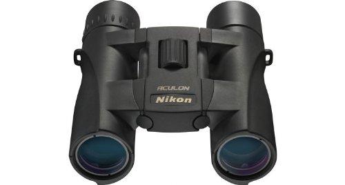 Nikon Aculon A30 10x25 Binoculars, Black, Clam Pack