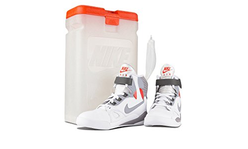 Cement Scarpe White Nike Sportive Bianco Pressure Grey Uomo Air Blanco qZE8TS