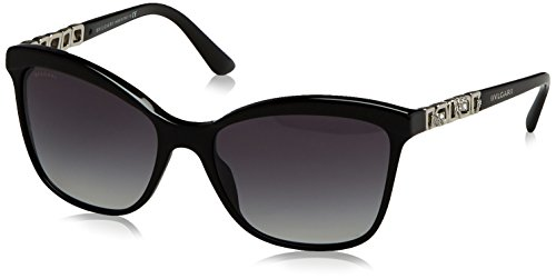 Bvlgari BV8163B 501/8G Black BV8163B Cats Eyes Sunglasses Lens Category 3 - Bvlgari Sunglasses