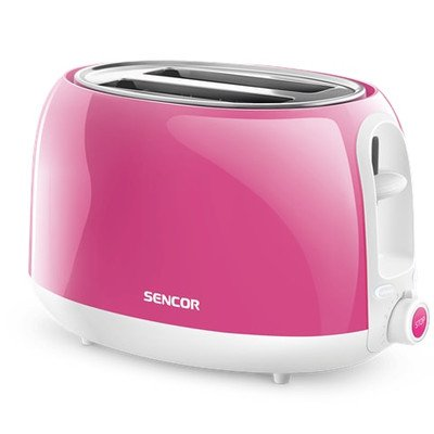 Sencor Europe 2 Slice Electric Toaster with 11 Toasting Intensity Levels -