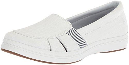 Fisherman Janis Grasshoppers Chambray White Sneakers Keds Women's 8xZtww