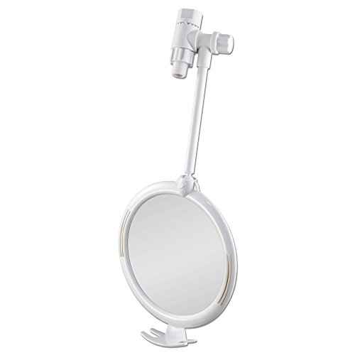 Zadro Led Lighted Shower Mirror - 2