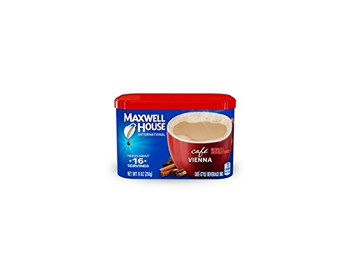 Maxwell House International Coffee Cafe Vienna, 9 Ounce (Pack of 12) by MAXWELL HOUSE