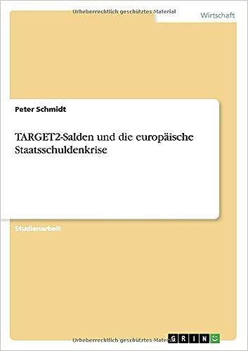 TARGET2-Salden und die europäische Staatsschuldenkrise