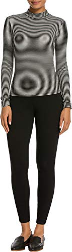 SPANX Women's Jean-ish Ankle Leggings Black Small 27 (Quilted Womens Jeans)