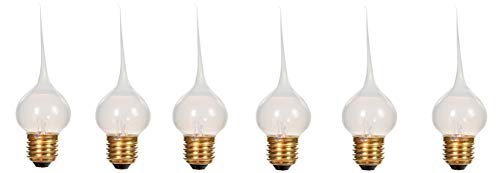 Set 6 Silicone Covered Light Bulbs