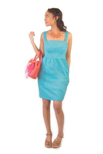 Colette Patterns Hazel Dress Sewing Pattern 1021-Beginner: Amazon.co ...