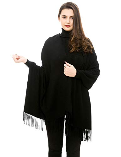 Reemonde Large Extra Soft Cashmere Blend Women Pashmina Shawl