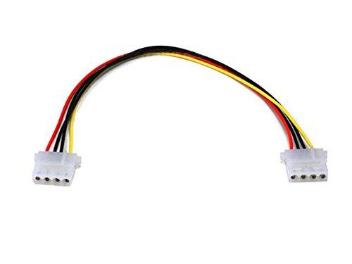 Monoprice Molex(5.25 Female) / Molex(5.25 Female), Int. DC Power Cable - 12 Inch