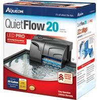 DPD AQUEON QUIETFLOW 20 Filter - Size: 20-30GAL/125GPH - Color: Black