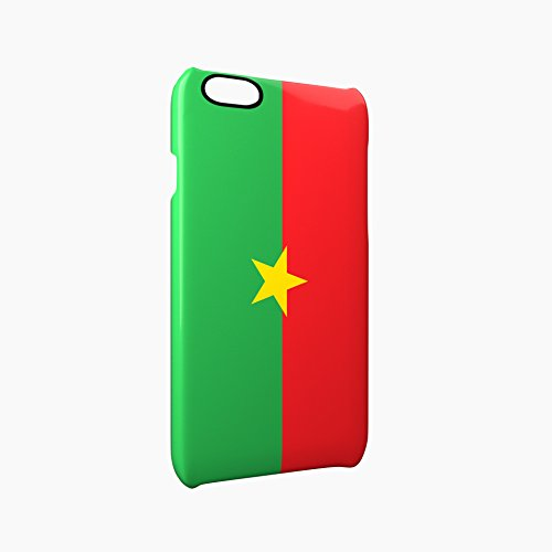Flag of Burkina Faso Glossy Hard Snap-On Protective iPhone 6 Plus + / 6S Plus + Case Cover