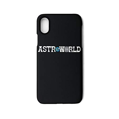 IPhoneX Case AstroWorld-Travis-Scott-Tour-Album- Ultra-Thin Back Case Scratch Resistant Flexible TPU Bumper Cover Phone Case for iPhoneX Case [5.8 inch]