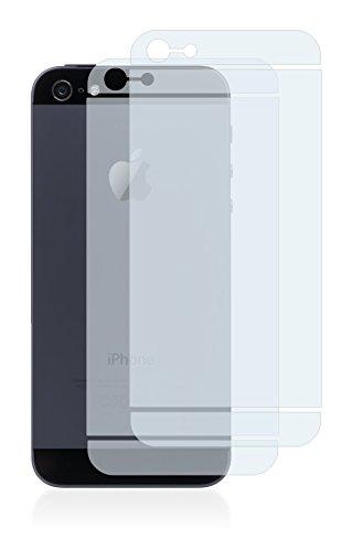 2x BROTECT Pellicola Protettiva Opaca per Apple iPhone 5 Posteriore (intera superficie) Proteggi Schermo - Opaco, Antiriflesso