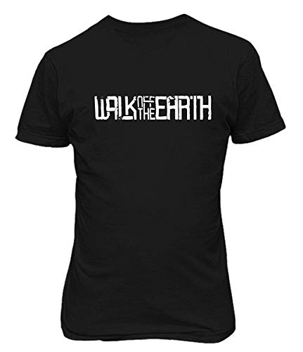 Cozy-T Walk Off The Earth Custom Casual Mens Short Sleeve T Shirts