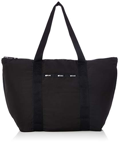 LeSportsac Travel Packable Large Tote, true black t ()
