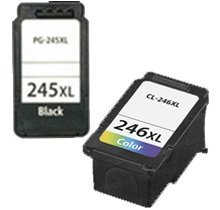 Lovetoner Compatible CANON PG-245XL / CL-246XL INK / INKJET Cartridge Black Tri-Color High Yield Combo