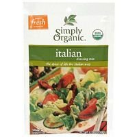 Simply Organic Italian Salad Dressing Mix .7 Oz (Pack of 12) - Pack Of 12