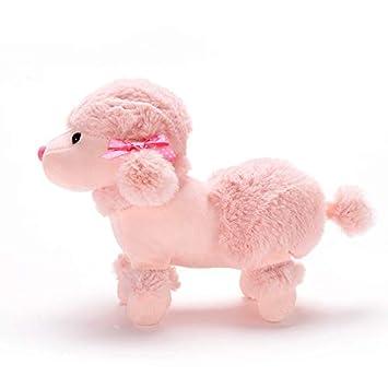 Amazon Com Lazada Sitting Poodle Dog Plush Puppy Stuffed Animal