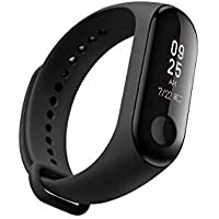 Aerizo OM3 Fitness Tracker Watch Heart Rate Band with Activity Tracker Waterproof Body Functions | Steps Counter for All Android & iOS Smartphone Device (Random Colour)