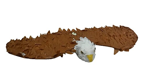 Pinatas Large American Eagle Pinata - Party Game, Decoration and Photo Prop for 4th of July and Patriotic Events, 34'' Long by Pinatas