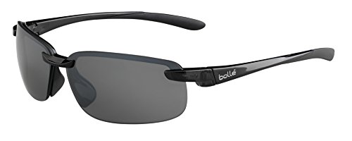 (Bolle Attraxion Sunglasses, Shiny Black)