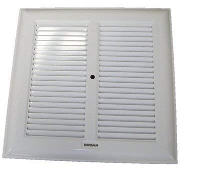 Broan White Metal Grille 315, 317, 660, 661, 662, 664, 665, 666, 668, 669 (Replaces 97000650, 980029