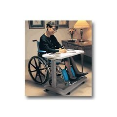 Rubbermaid Deluxe Overbed Table - Wheelchair Desk