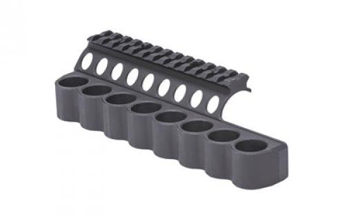 Mesa Tactical SureShell Saddle Mount with Rail Fits Benelli M4, - Fits Rails