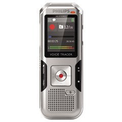 Philips Voice Tracer DVT4000/00 Digital Voice Recorder, Silver by Philips