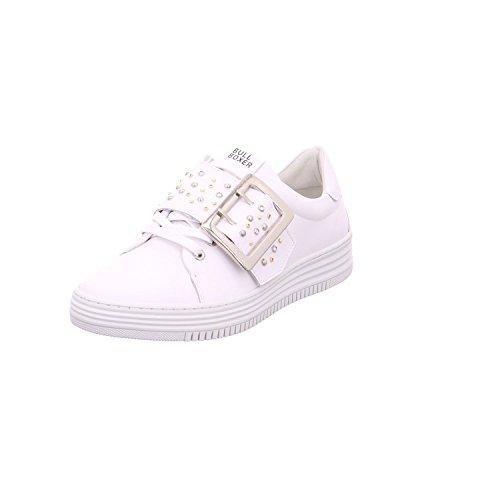 BULLBOXER 420026e5l - Zapatos de cordones para mujer Weiß