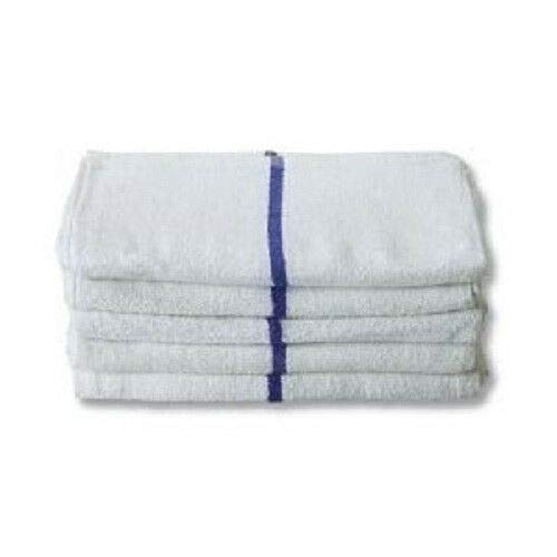 10 lbs Stripe Towels Bar Terry Rags Restaurant Cleaning 16''x19'' Business & Industrial Cleaning Supplies