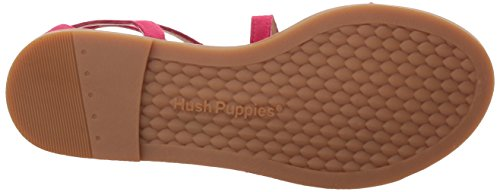 Hush Puppies Womens Abney Chrissie Lo Gladiator Sandalo Persiano Rose Suede