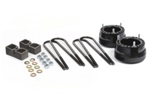 """Daystar, Dodge Ram 2500/3500 2"""" Lift Kit, fits 1994 to 2013 April 4WD with Dana 70 rear axle with top-mount overload springs, with 4"""" diameter axle tube and 18.4"""" round u-bolt, all transmissions, all cabs, Does not fit dually, KC09131BK, Made in America"""