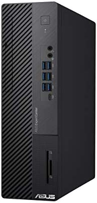ASUS ExpertCenter D700SA, Small Form Factor Desktop PC, Intel Core i7-10700, 16GB DDR4 RAM, 512GB PCIe SSD, TPM 2.0, 3 Year Onsite Service, Wi-Fi 6, Windows 10 Professional, Black, D700SA-XB701