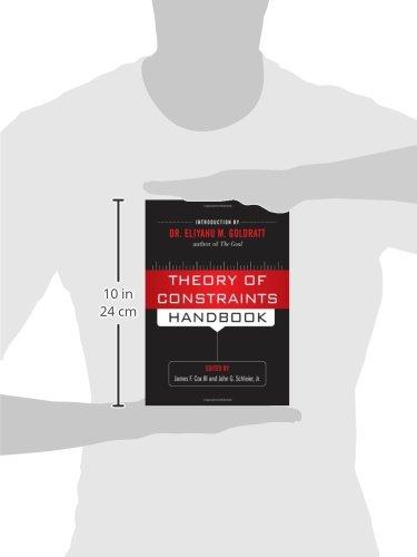 Theory of Constraints Handbook: Amazon co uk: James Cox, John