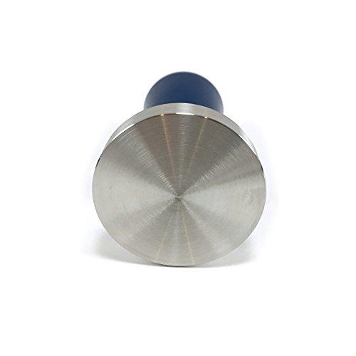 Coffee Espresso Tamper 58mm - CONSISTANT ACCURATE PRESSURE - Pulls Epic Shot- Calibrated to 30lb (Blue)