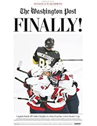 Washington Capitals 2018-Stanley-Cup-Champions- Special Edition June 7, 2018 (Limited Print)