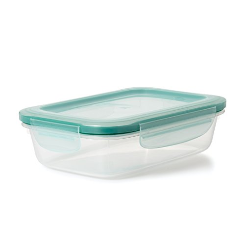 OXO 11175100 V Good Grips 5.1 Cup Smart Seal Leakproof Food Storage Container ASIN: B019F06YKU View on Amazon, Clear - Plastic View Seal