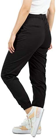 Reell Reflex Women LW Pantalon pour femme avec ceinture -  Noir -  XS