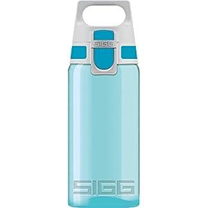 SIGG VIVA ONE Aqua Gourde enfant (0.5 L), Petite bouteille sans BPA et sans solvants, bouteille transparente, gourde…