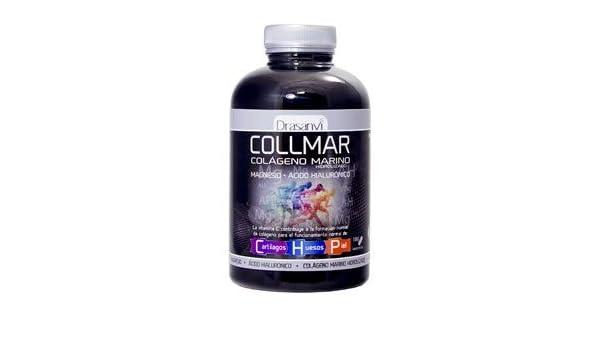 Collmar, colágeno marino hidrolizado con magnesio y ácido hialurónico para cartilagos, huesos y piel 180comp: Amazon.es: Salud y cuidado personal