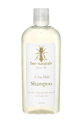 Bee Naturals Ultra Mild Sulfate-Free Shampoo - All Natural Ingredients - Gentle Enough for Fragile, Color-treated and Chemically Processed Hair.
