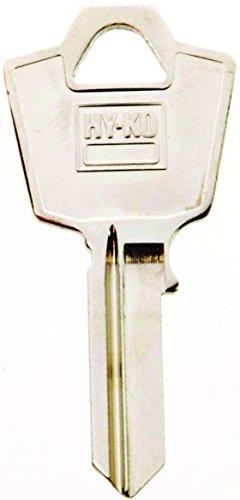 - Hy-Ko Key Blank Cylinder Repl Fits Esp Mailbox Locks Single Sided Brass Nickel Plated Polybg