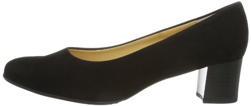 Zapatos Tacón Kaiser Con Peter De Para 240 240 Punta Suede negro Negro Ghana Cerrada Mujer xwawfA
